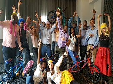 Bicycle Buildoff Team Building Activity