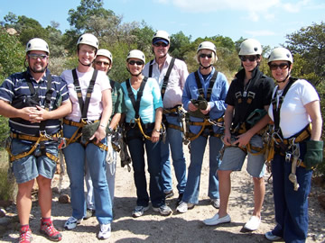 Canopy Tour Team Building Activity