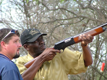 Clay Pigeon Shooting Team Building Activity